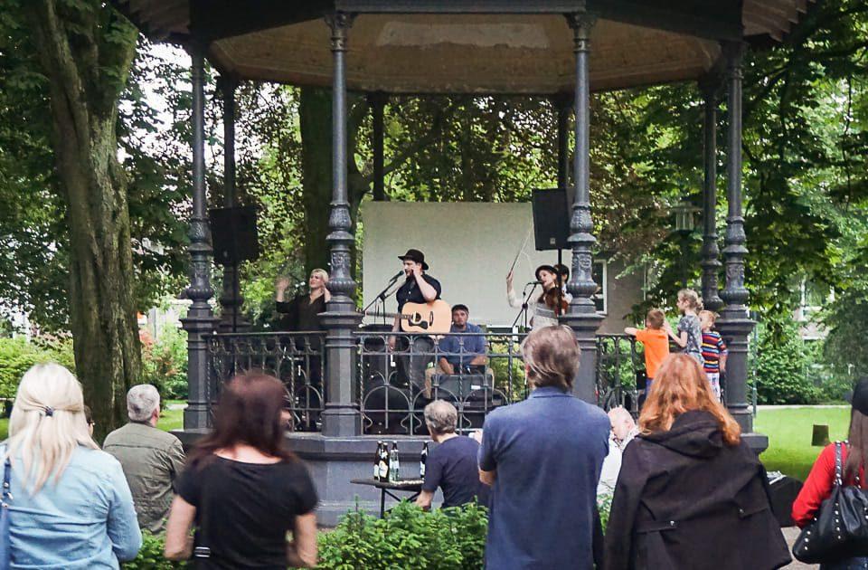 Ankündigung Stadtgarten Krefeld / Haaner Sommer